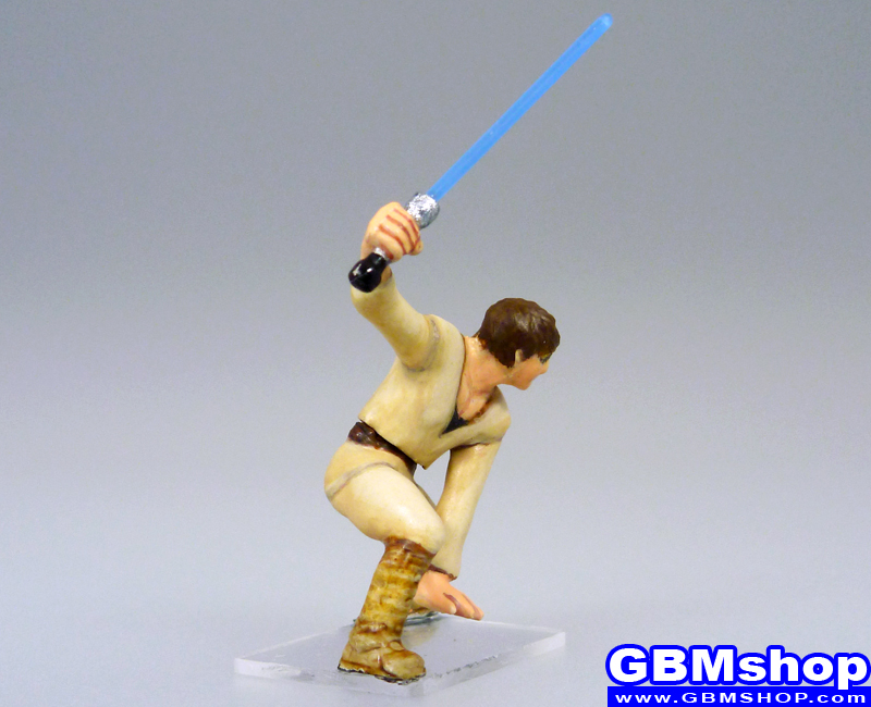 star wars miniature Imperial Assault The clone of Luke Skywalker Luuke custom Cade Skywalker, Padawan #25 Jedi Academy Star Wars Miniatures Custom Customize and Painting Thrawn campaign crisis Trilogy