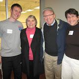 Paul Mathieson (Dover Squash Pro), Wendy Berry, Dan Reagan, Susan Greene