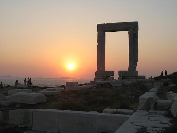 Puerta de Apolo en Hera, capital de Naxos
