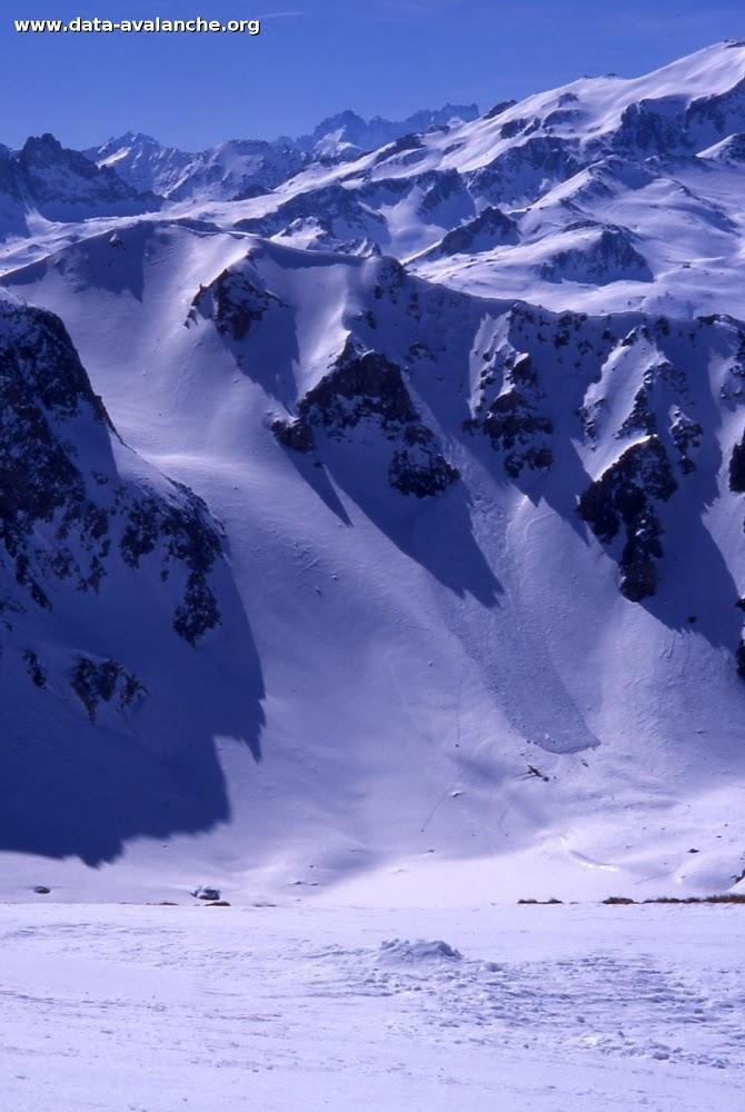 Avalanche Mont Thabor, secteur Petit Argentier, Col du petit Argentier - Photo 1
