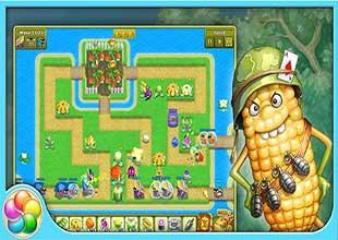 اللعبة الاستراتيجية Garden Rescue