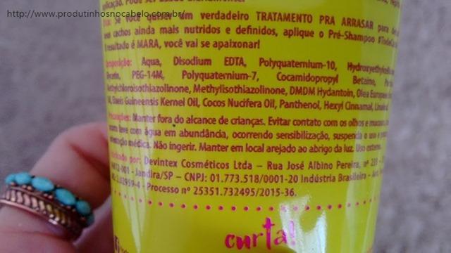 Tô de Cacho Salon Line Shampoos