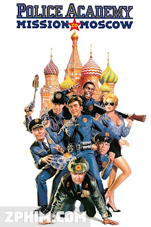 Học Viện Cảnh Sát 7 - Police Academy: Mission to Moscow (1994) Poster