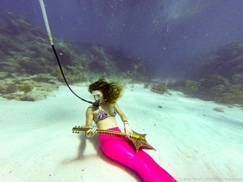 Mermaid underwater festival florida keys