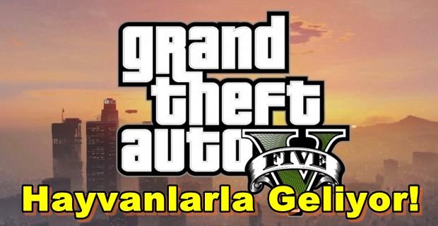 Grand Theft Auto 5'te Hayvanlar Olacak!