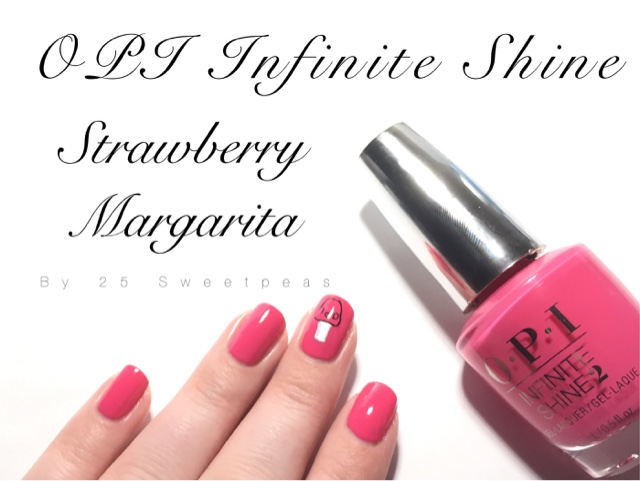 Opi Infinite Shine Strawberry Margarita 25 Sweetpeas