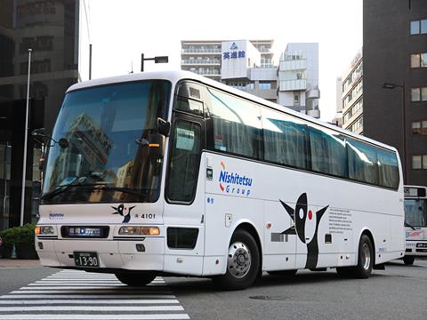 西鉄高速バス「福岡~延岡・宮崎夜行線」 4101