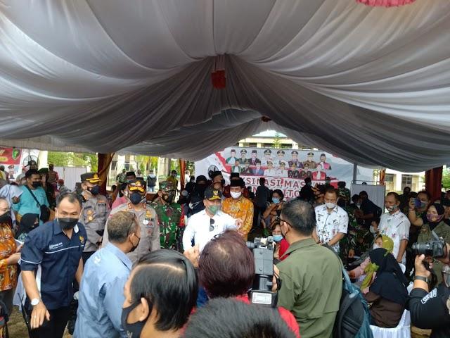 Gubernur Kalteng Imbau Keluarga Wali Murid tak Takut Divaksin