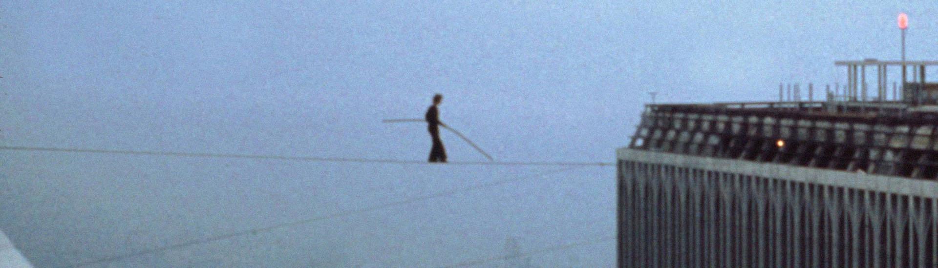 Baner filmu 'Człowiek Na Linie'