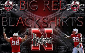 Huskers Big Red Blackshirts Wallpaper