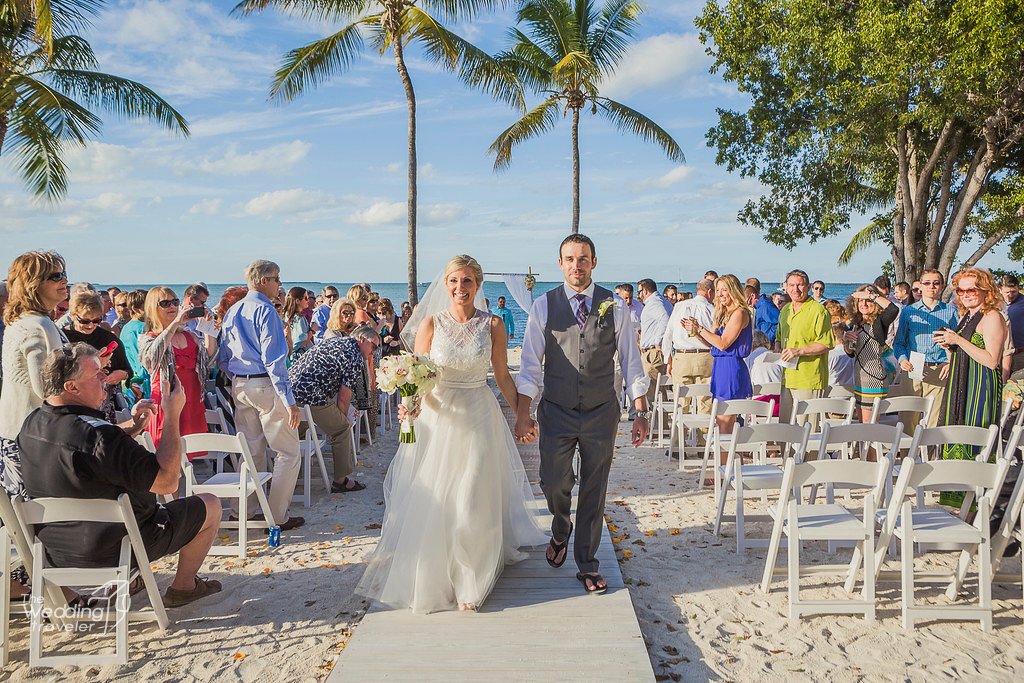 destination beach wedding reception