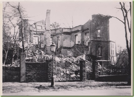 Chemnitz house destruction