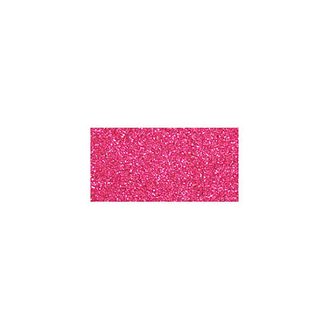 Kaisercraft Glitter Cardstock 12X12 - Flamingo