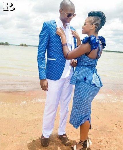 Shweshwe Dresses for beach weddings 2018