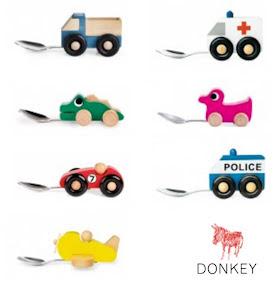 cuillères-pour-bébé-voitures-animaux