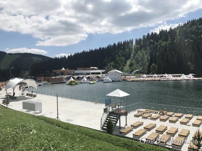озеро Молодости буковель