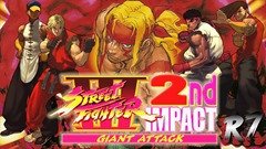 street fighter III second impact giant attack