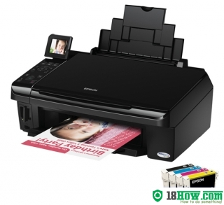 How to Reset Epson SX415 flashing lights error