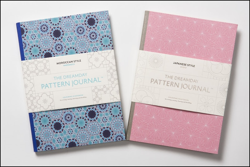 Brand new Dreamday Pattern Journals - Kyoto and Marrakech