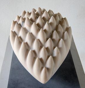 Falkinn: PORTUGUESE MARBLE, 2016: W 28cm, H 23 cm, D 41 cm; £5,000
