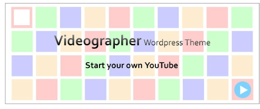 Videographer WordPress Theme. Start Your Own Video Blog | Zoomstart
