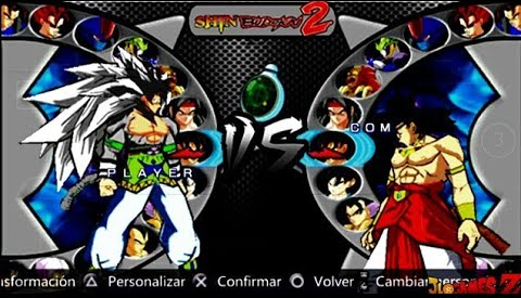 DOWNLOAD!! NEW (MOD) DRAGON BALL AF SHIN BUDOKAI STYLE PS2 PARA CELULARES ANDROID (PPSSPP)
