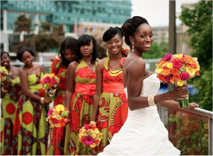 African Wedding Dresses For This Season 2018 4
