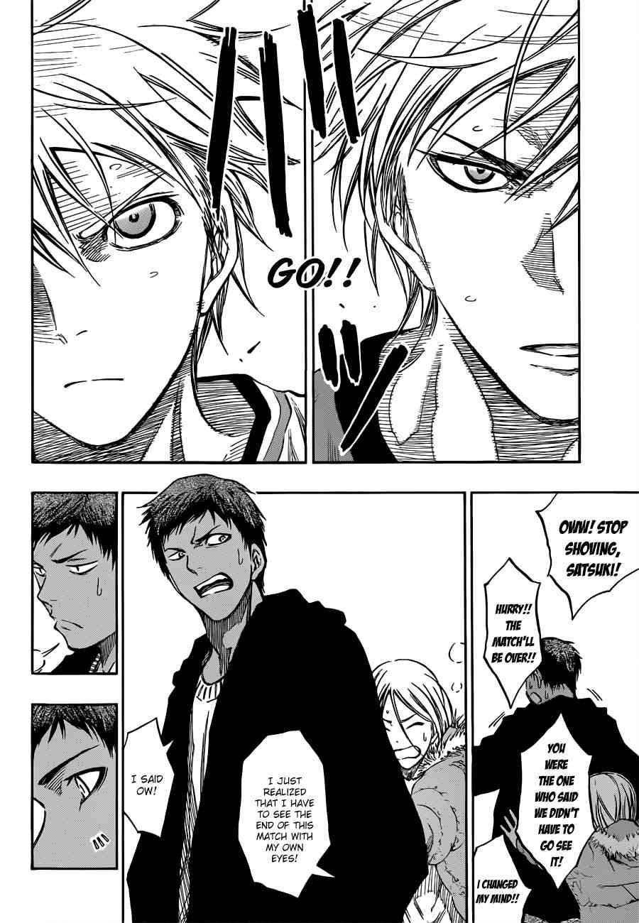 Kuroko no Basket Manga Chapter 195 - Image 18