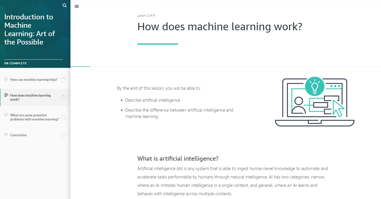 AWS เปิดตัวหลักสูตรการฝึกอบรมด้านดิจิทัล ส่งเสริมความรู้ด้าน Machine Learning แก่ผู้สนใจโดยไม่คิดค่าใช้จ่าย
