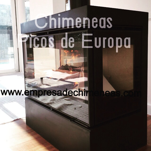 Chimeneas picos de europa insert de le a para chimenea - Cassette para chimeneas ...
