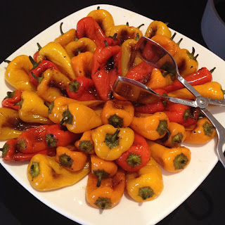 Roasted Sweet Peppers.