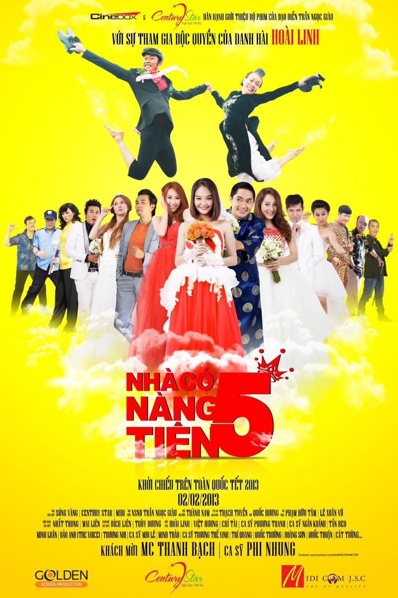 Nhà Có 5 Nàng Tiên – Bản Đẹp Trọn Bộ Full HD (2013)