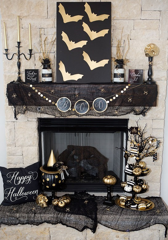 1-Halloween-mantel