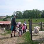 Výlet na farmu Olešná 23.května 1.a 2.třída Nad Palatou