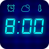 Visual Clock- Big Digital Clock & Free Alarm Clock
