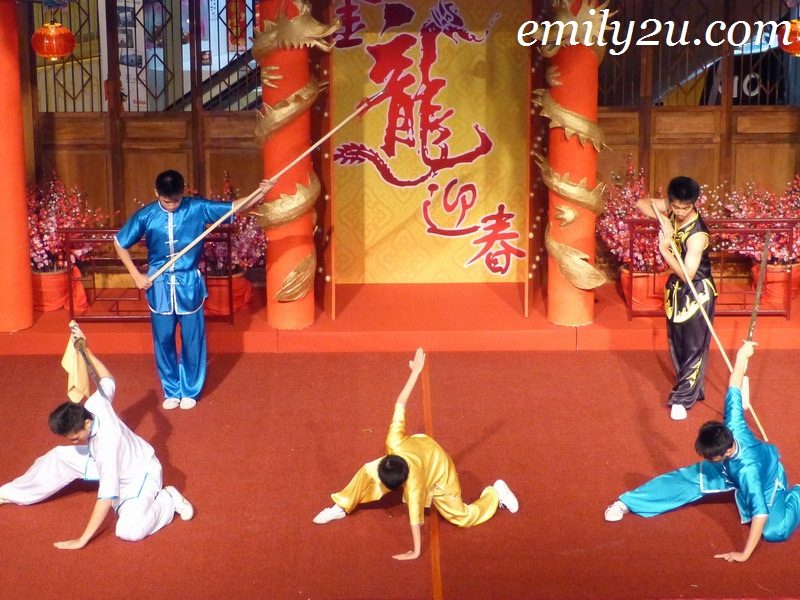 Ipoh Chin Woo wushu performance