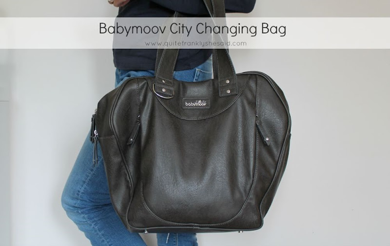 babymoov city changing bag
