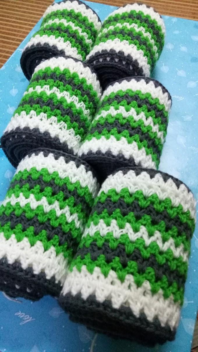 Projek Crochet Ogos 2020