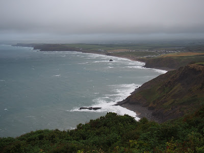 View from Penhalt Cliff looking back towards Widemouth Bay