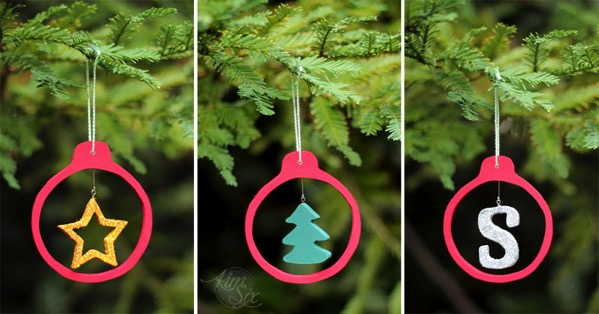 Exchangeable wooden ornaments