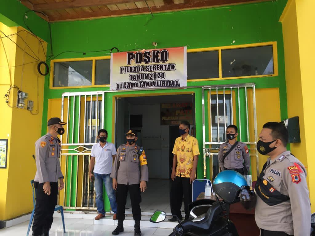 Kapolres Soppeng Pantau Gudang Logistik PPK di 3 Kecamatan