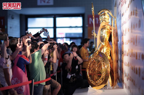 Chiêm ngưỡng nữ thần Athena tại Chinajoy 2012 13