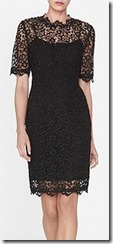 LK Bennett Aisha Lace Black Dress