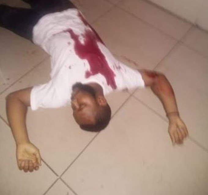 OMG!! Nigerian Man Brutally Shot Dead By Suspected Cultists In South Africa (Photo)