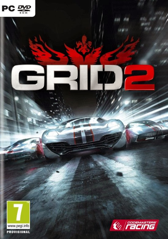 Cover Of Grid 2 (2013) Full Latest Version PC Game Free Download Resumable Links at Alldownloads4u.Com