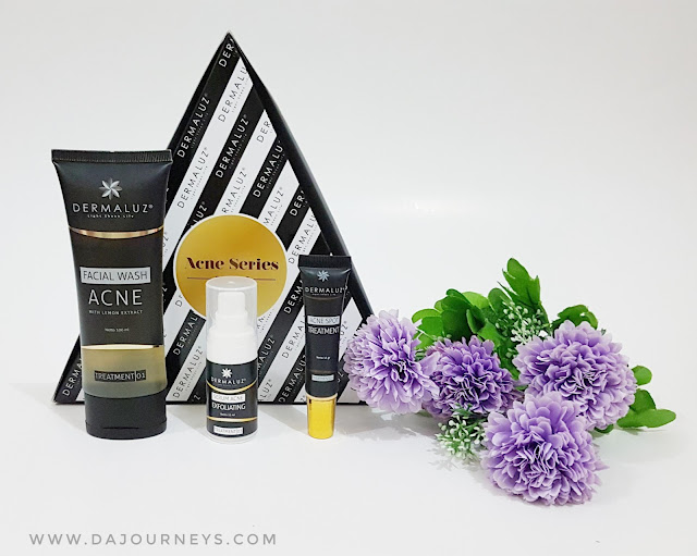 [Review] Dermaluz Acne Series
