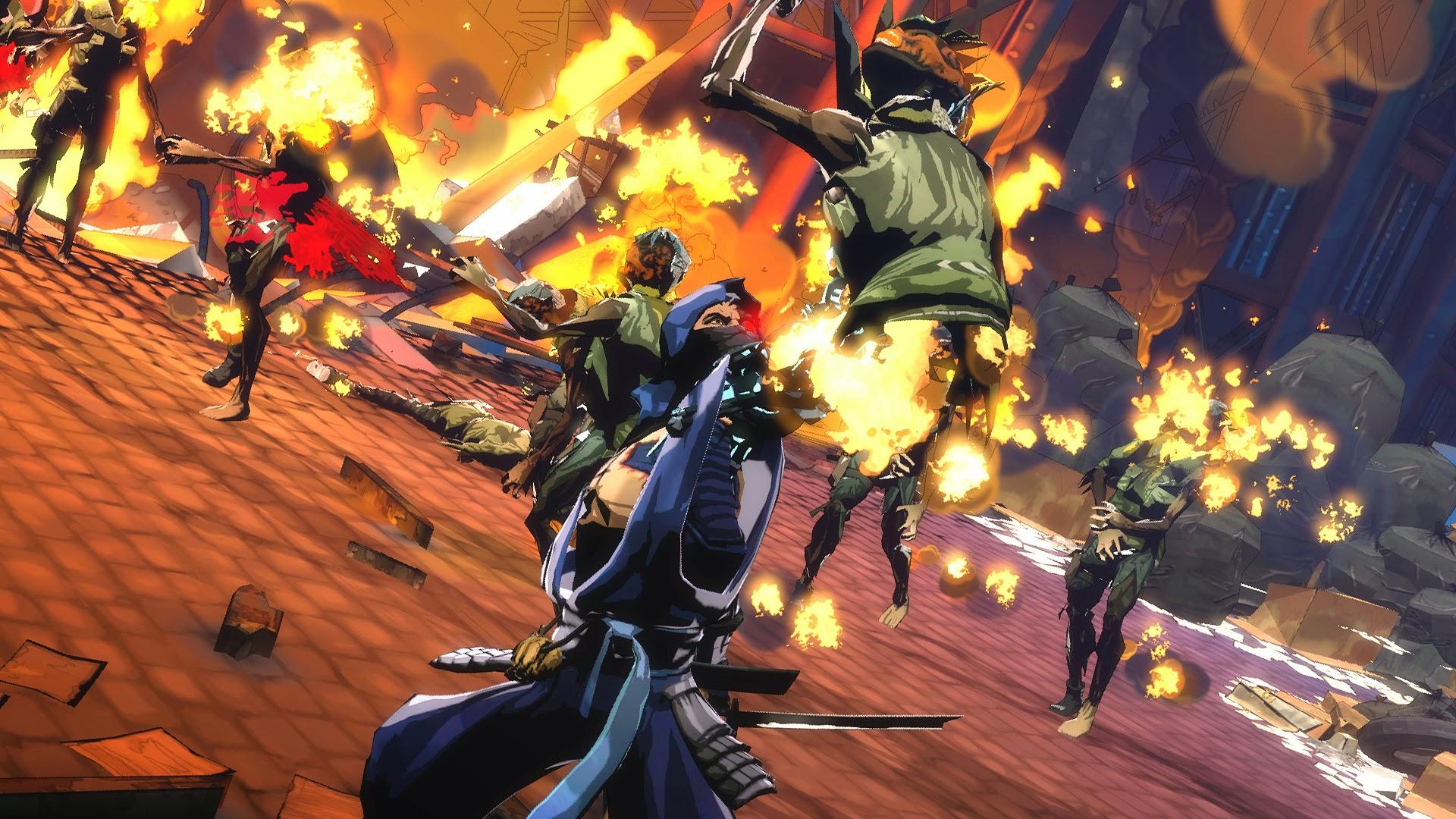 Những hình ảnh đầu tiên về YAIBA: Ninja Gaiden Z - Ảnh 4