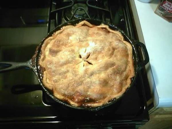 Skillet Apple Pie Recipe