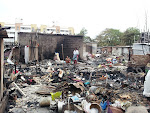 Ambedkar Colony Fire Accident Photos - LSP Visit on July 31