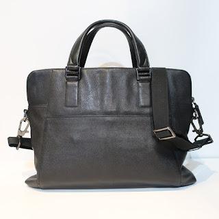 Tumi Black Leather Attache